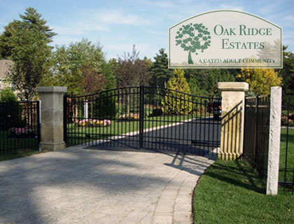 Oak Ridge Estates - A Sousr Realty and Development Company Community